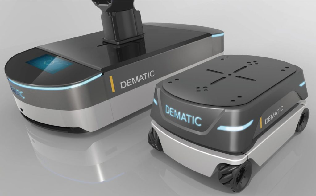 Dematic Automated Guided Vehicle Detail