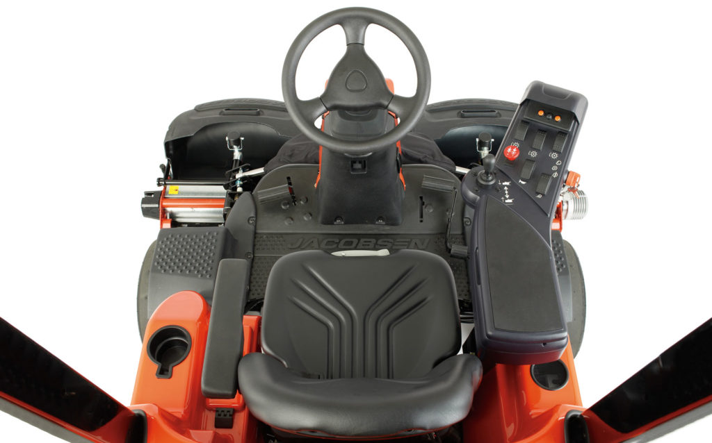 Jacobsen Eclipse 322 Golf Mower Cabin Controls