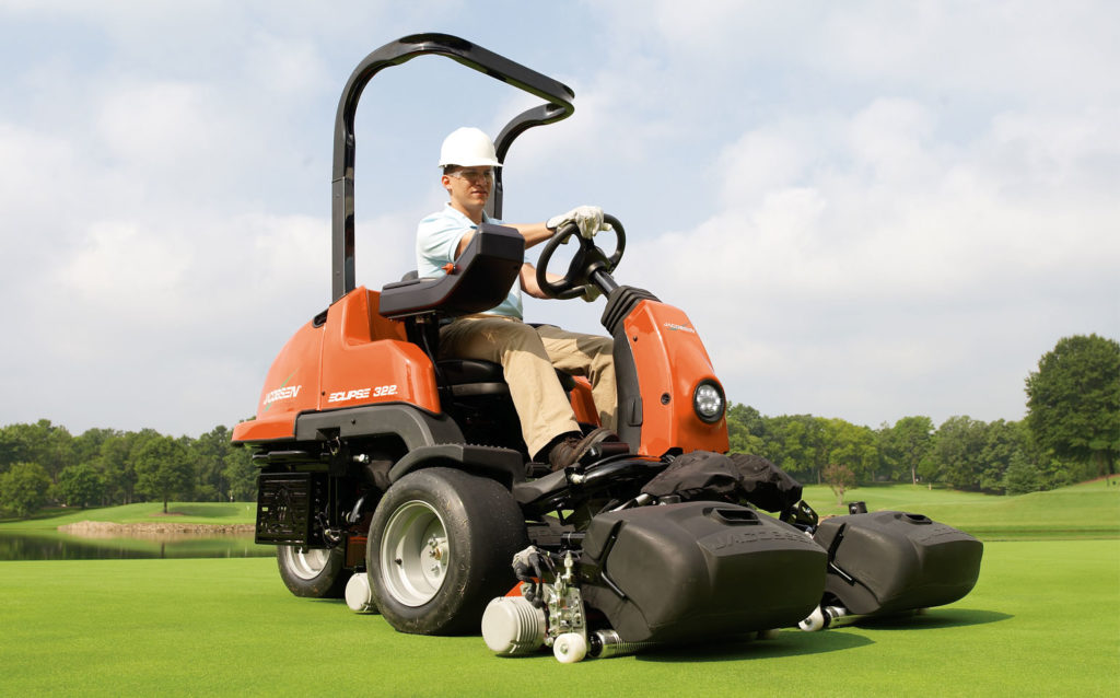 Jacobsen Eclipse 322 Golf Mower On Green