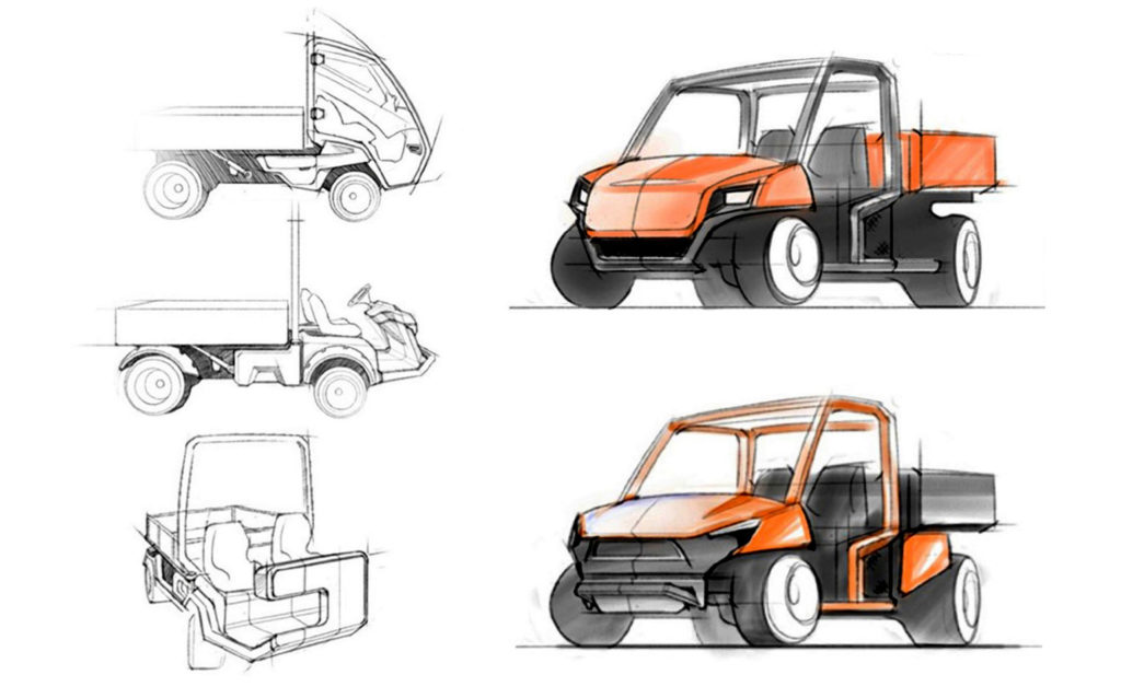 Jacobsen Truckster Sketches