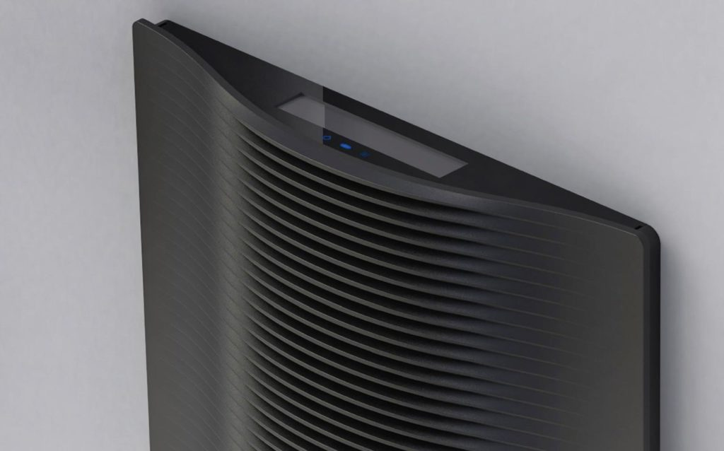 Marley Electric Wall Heater in Black