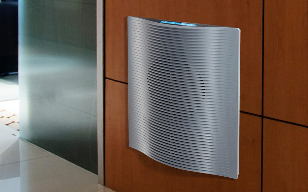 Marley Electric Wall Heater Installed