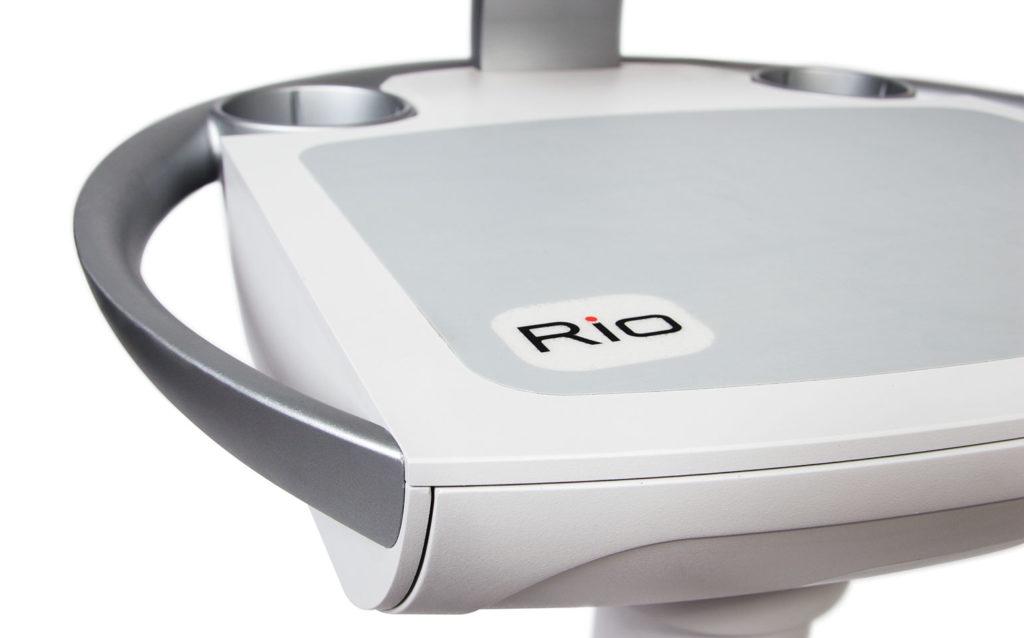 Rioux Vision Medical Cart Detail View