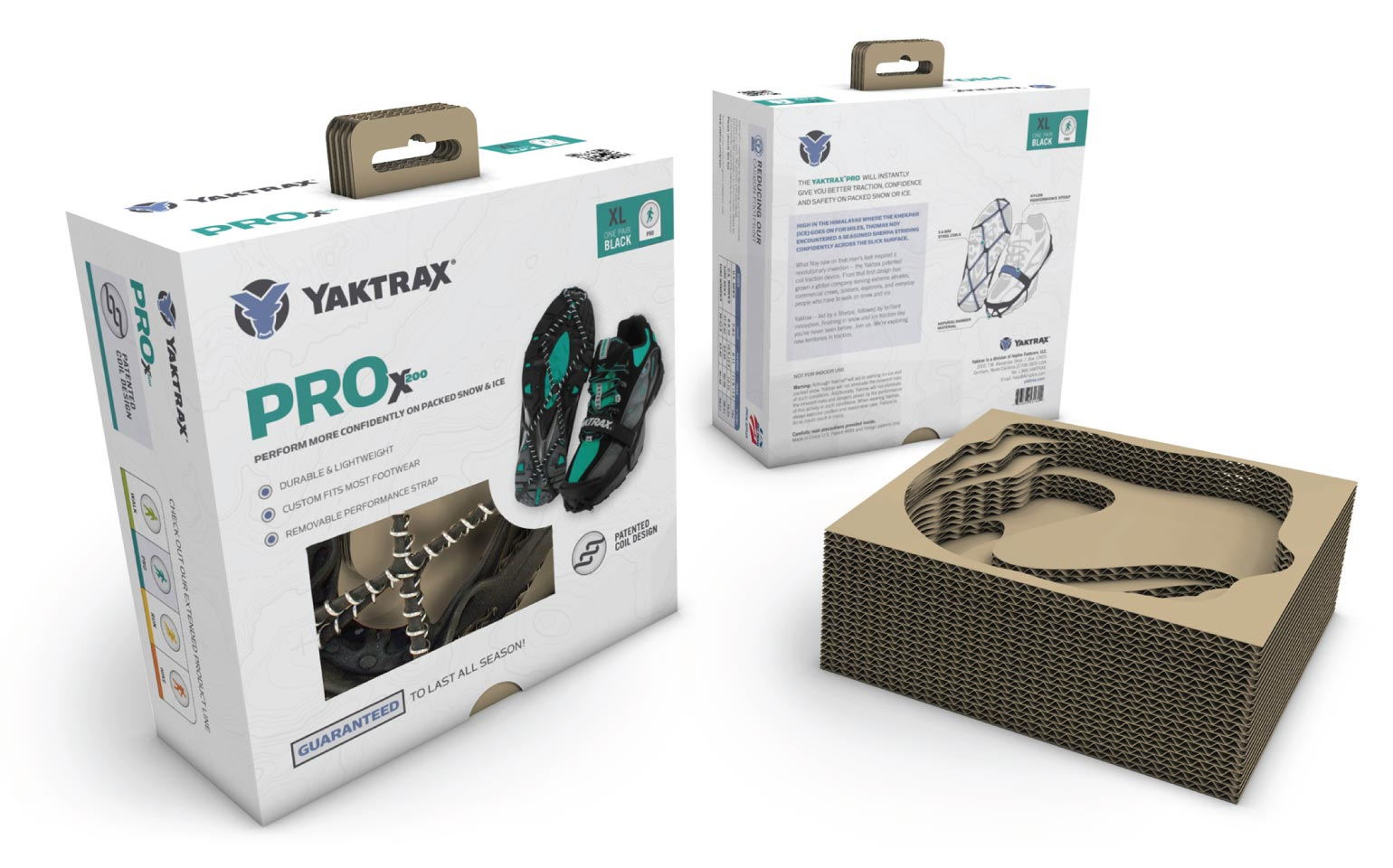 Yaktrax Pro Packaging