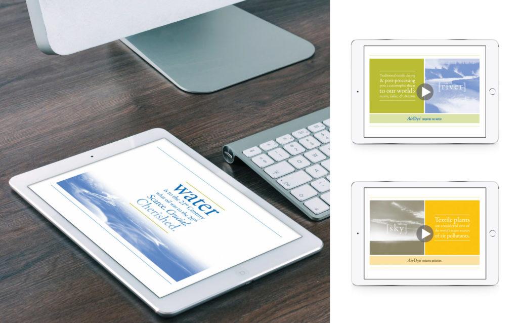 AirDye Digital Presentation Materials