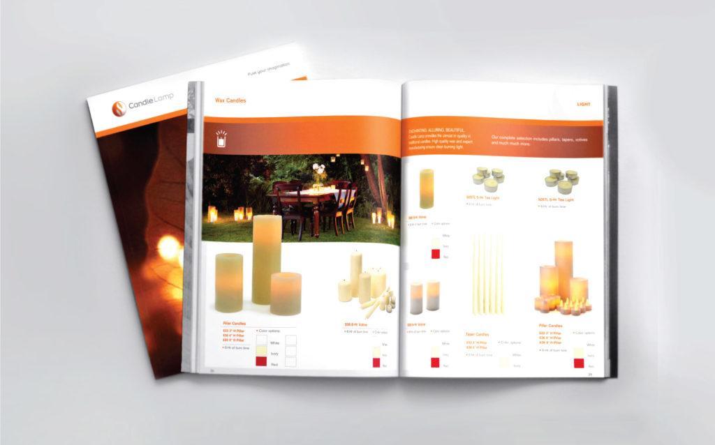 CandleLamp Product Catalogue
