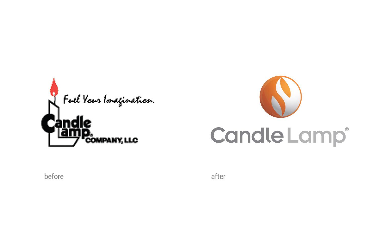 CandleLamp Logo Comparison