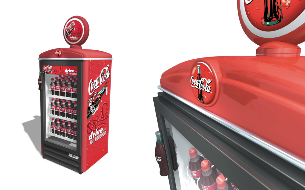 Coca-Cola Cooler Dress Kit