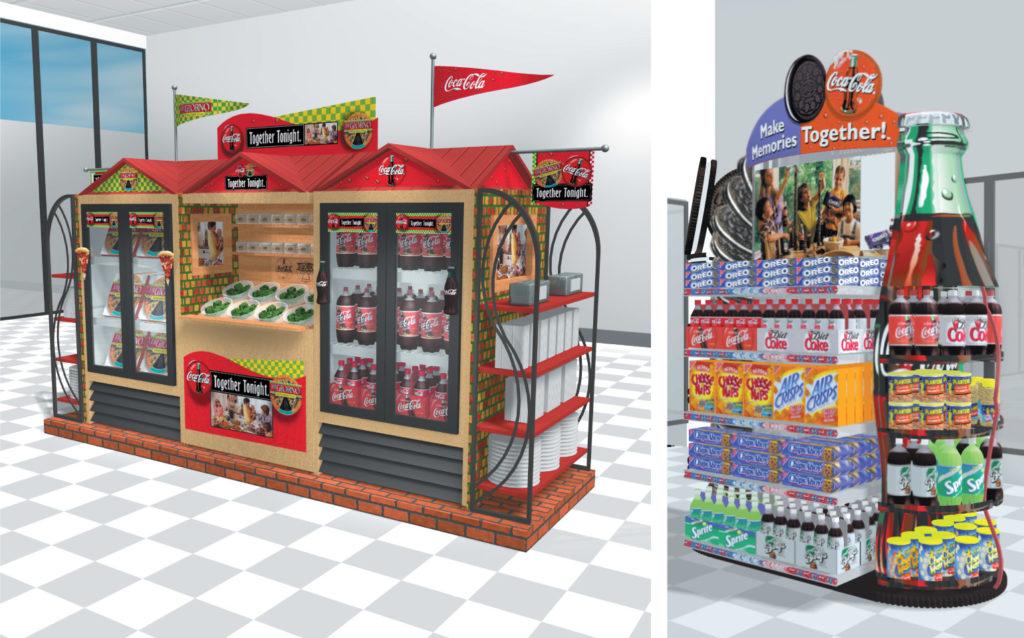 Coca-Cola In-Store Merchandising