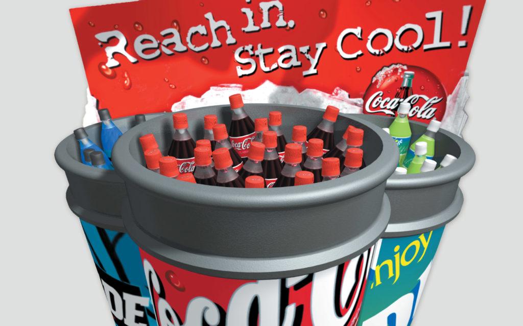 Coca-Cola Barrel Merchandising