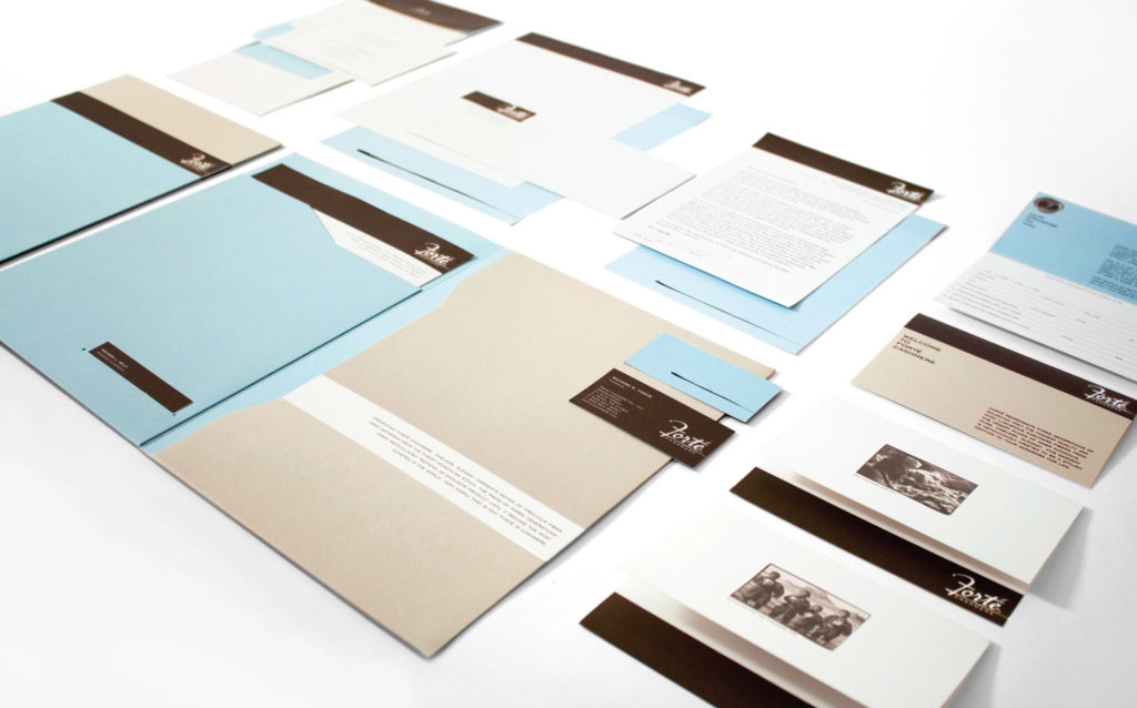 Forte Business Stationery
