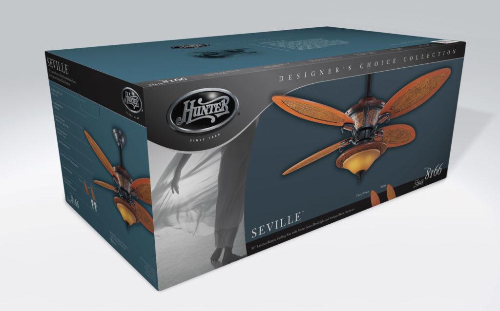 Hunter Fan Packaging