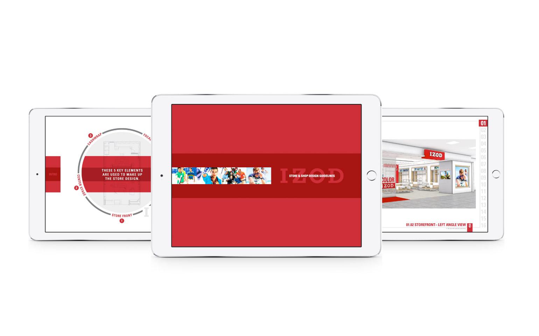 IZOD Digital Store Design Standards
