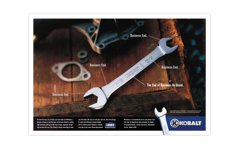 Kobalt Tools Advertisments