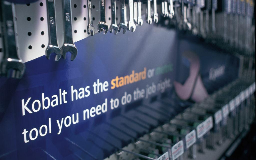 Kobalt Tools In Store Product Display