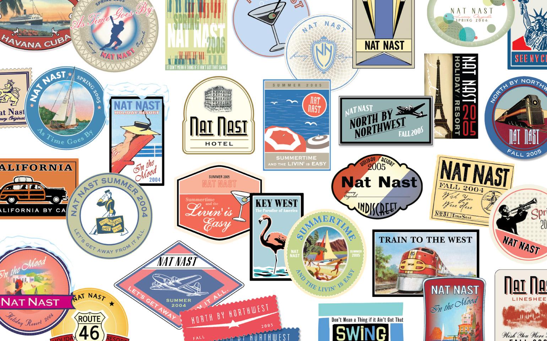 Nat Nast Sticker Icons
