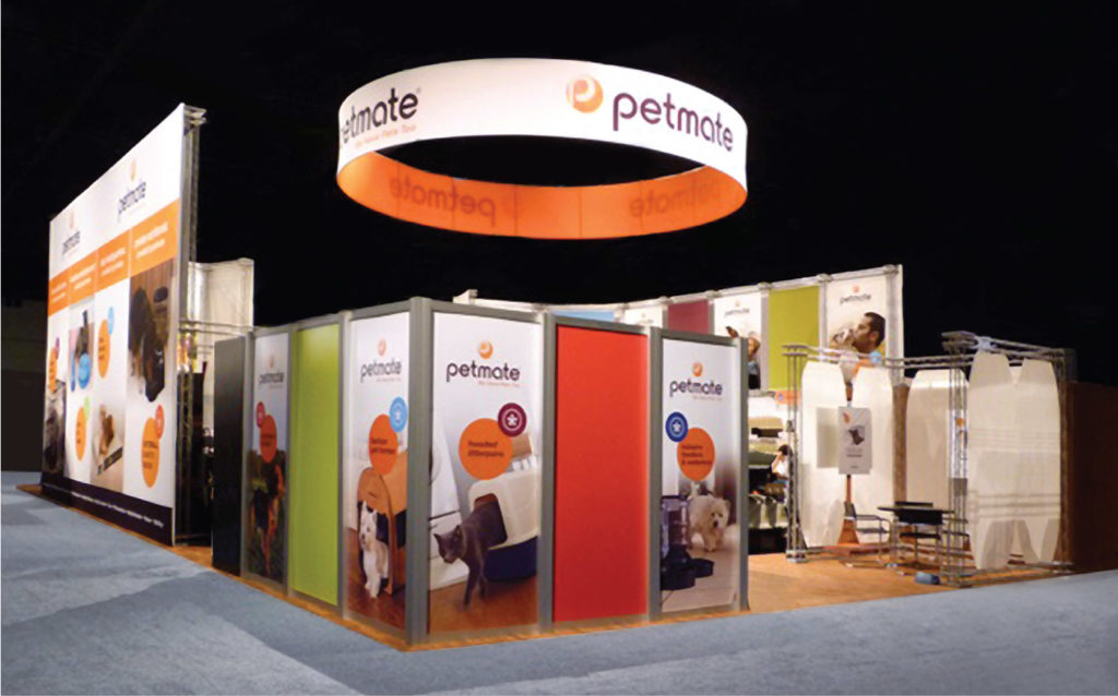 Petmate Trade Show Booth