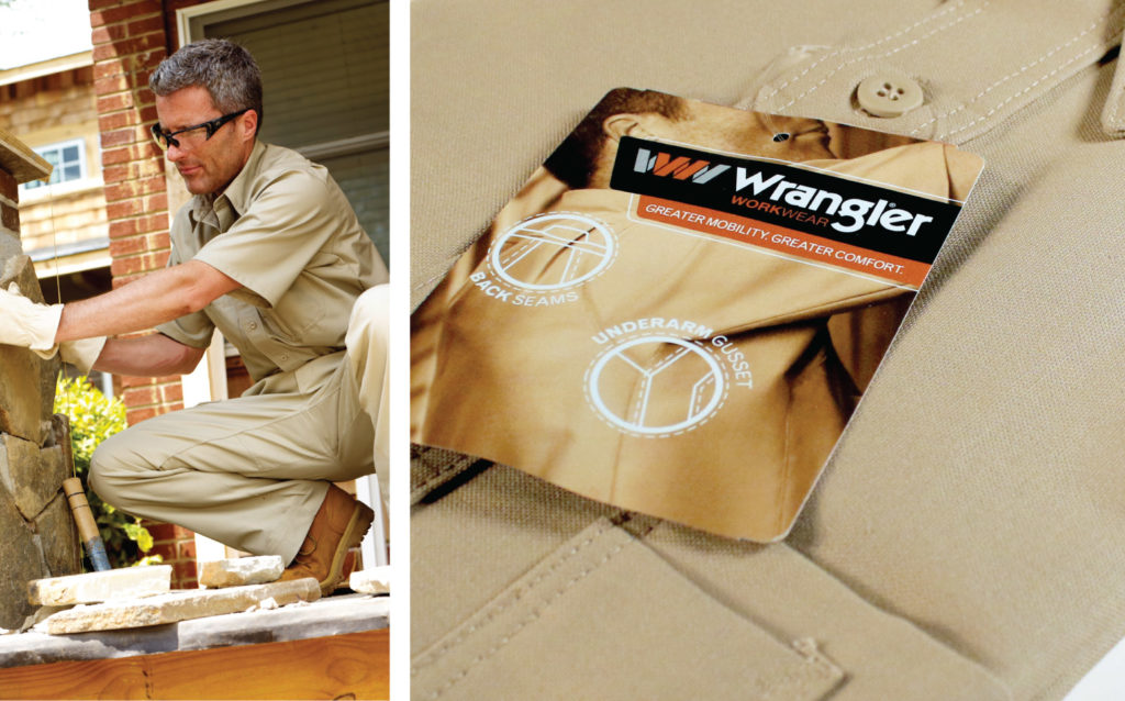 Wrangler WorkWear Trim and Art Direction