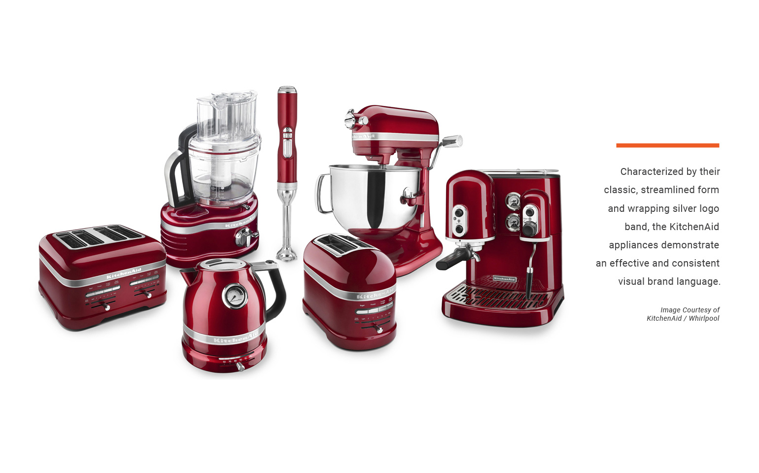 KitchenAid Family of Appliances