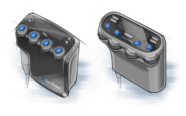 CoachComm Concept Sketches