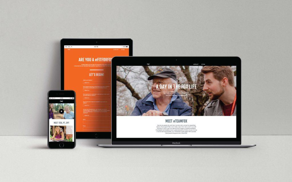 FOX Rehabilitation Web Microsite