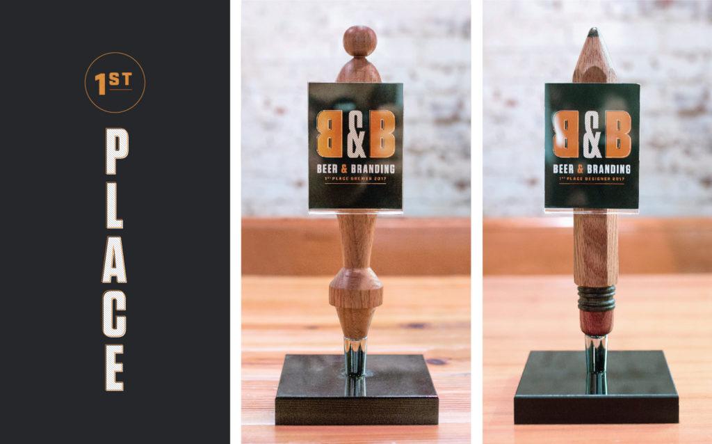 Beer + Branding Event Trophies