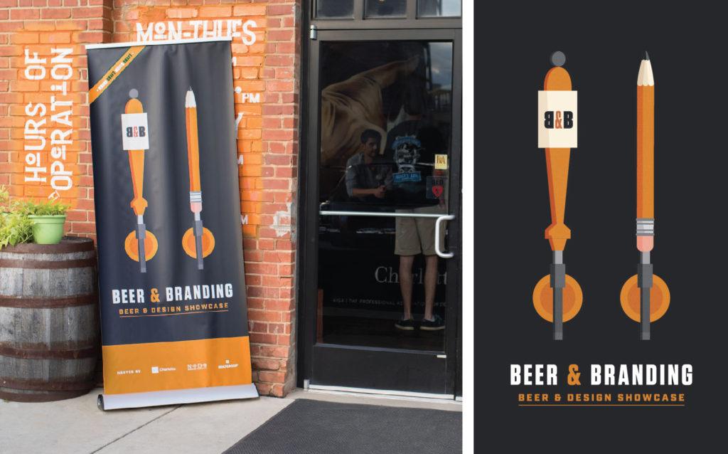 Beer + Branding Event Banners
