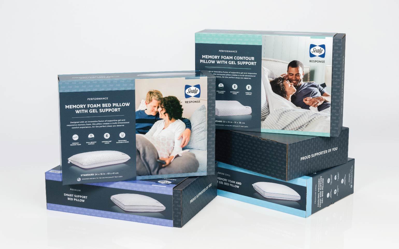 Sealy Response Retail Packaging