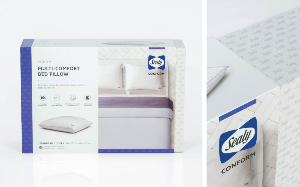 Sealy Conform Retail Packaging
