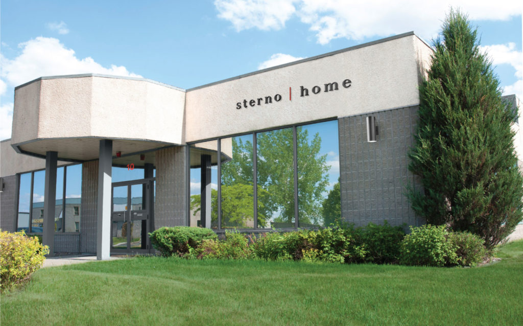 Sterno Home Exterior Corporate Signage