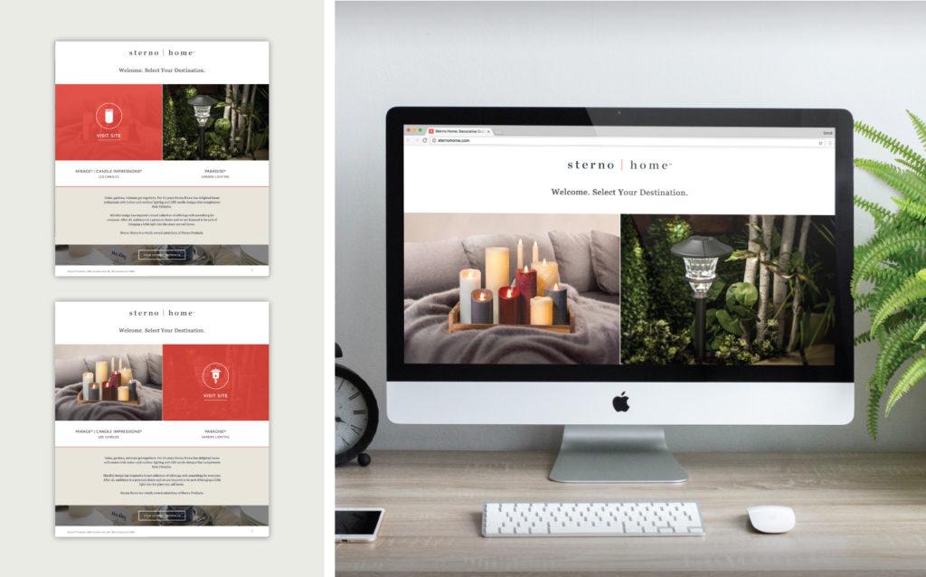 Sterno Home Website