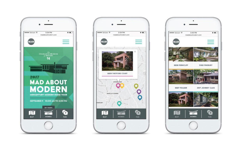 Mad About Modern Home Tour Mobile Experience