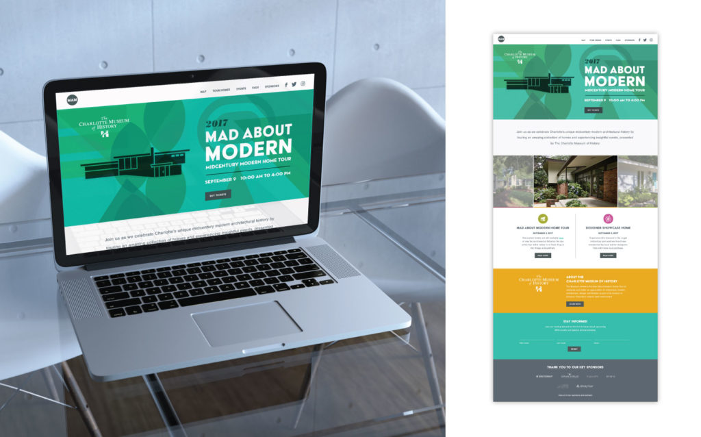 Mad About Modern Home Tour Website