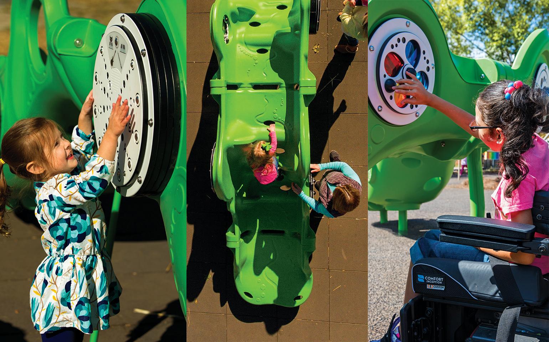 PlayCore Sensory Arch Inclusive Playground Equipment