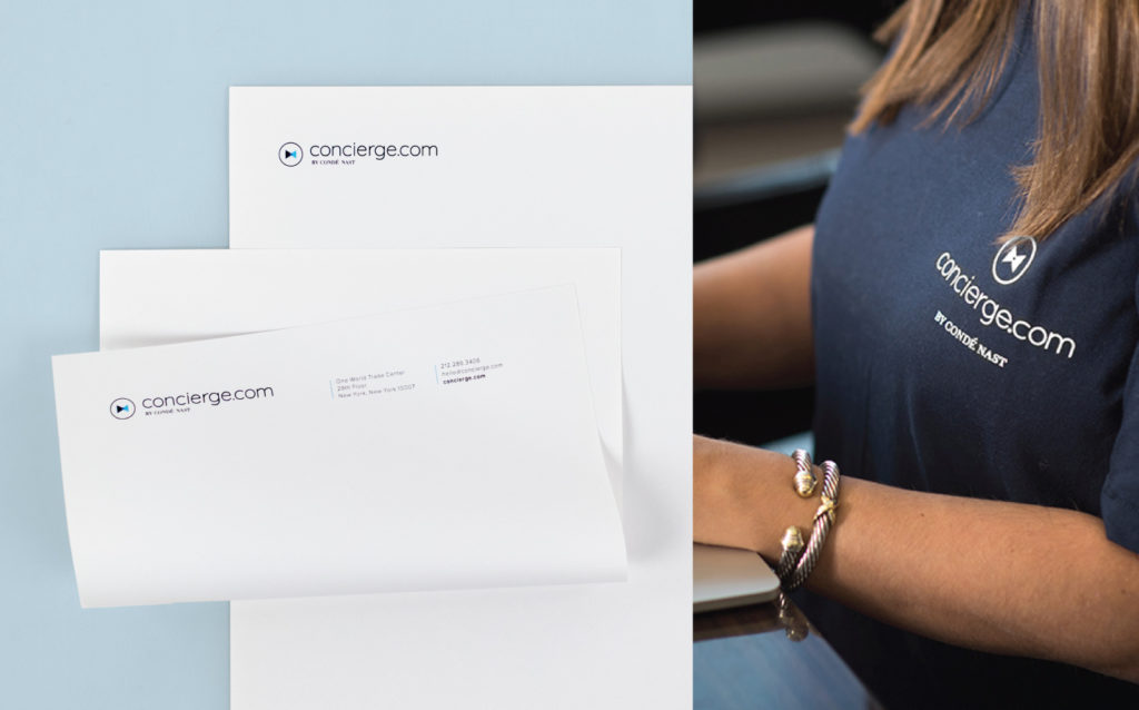 Concierge.com Business Stationery