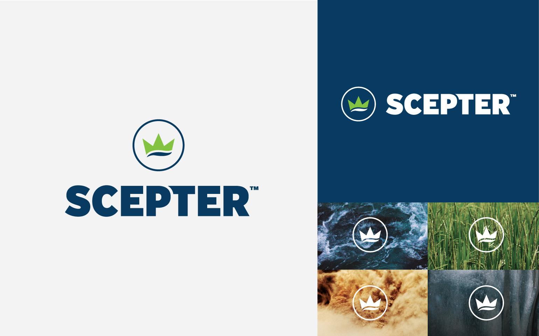 Scepter Logo Executions