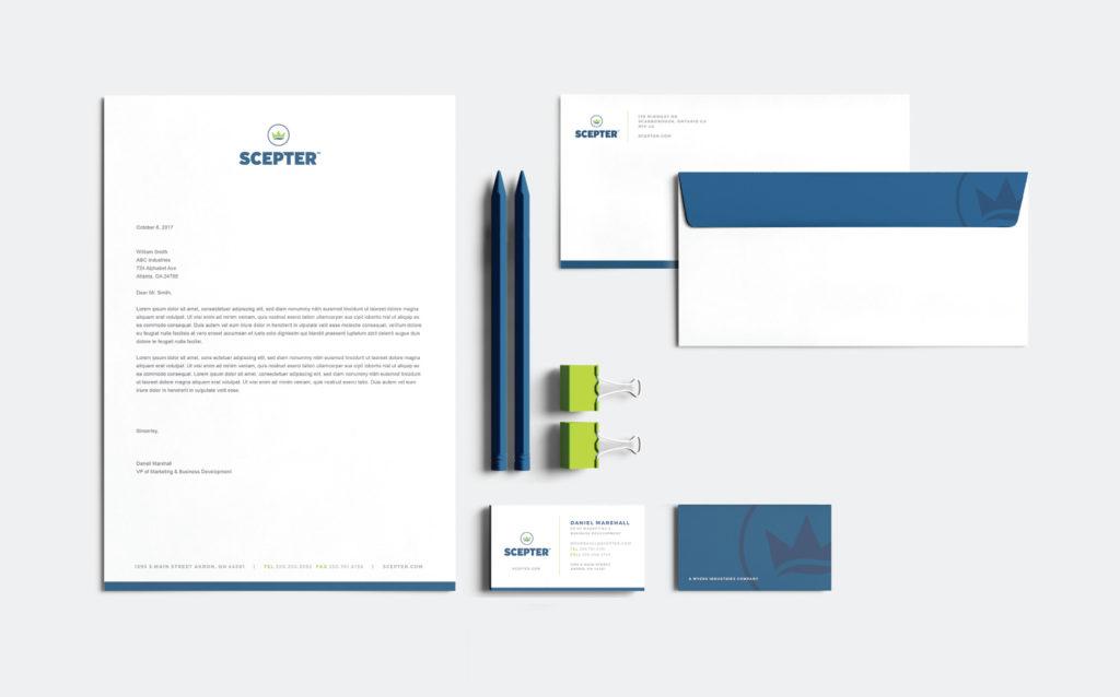 Scepter Business Stationery