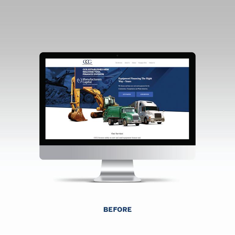 CCG Earlier Website