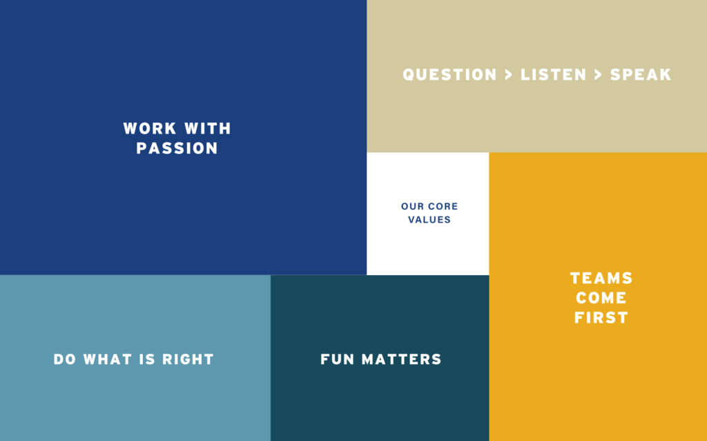 Doerre Construction Brand Values