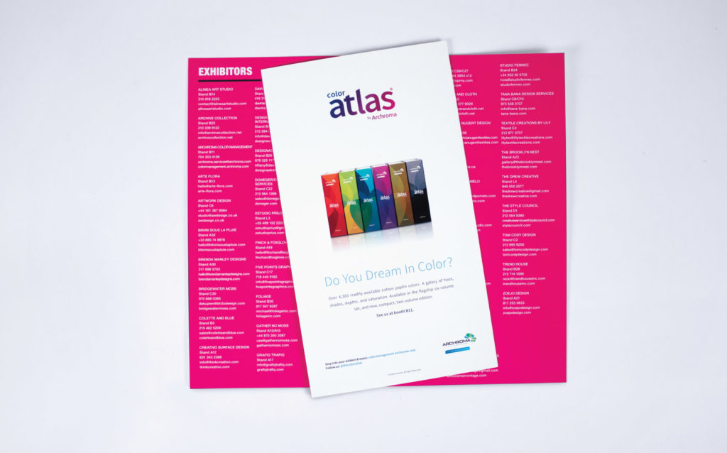 Archroma Color Atlas Advertisement