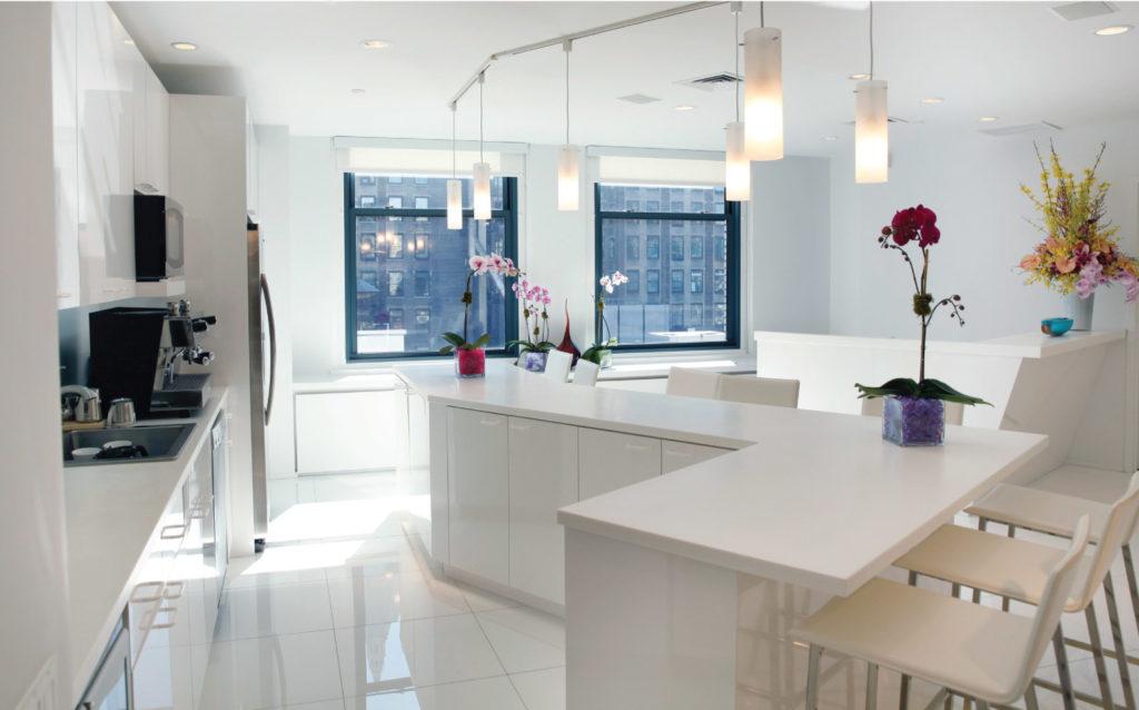 Comfort Revolution Showroom Kitchen