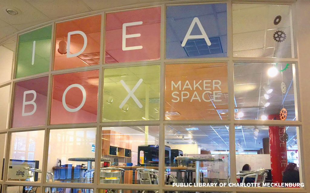 Char-Meck Library Maker Space