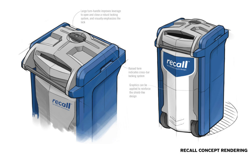 Recall Container Concept