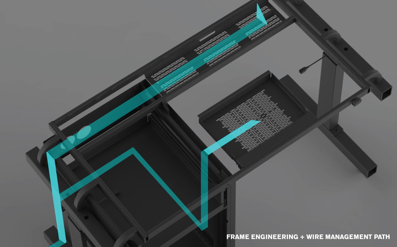 Furniture Wire Management