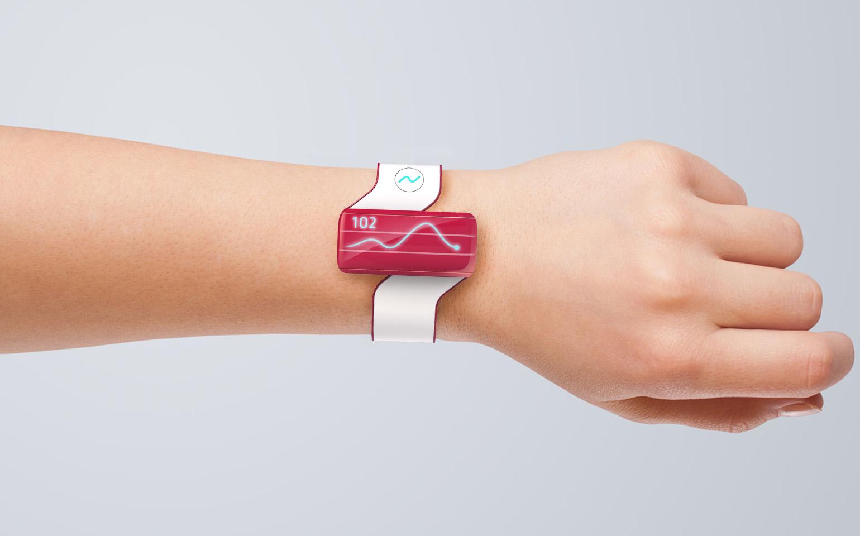 Sugar Watch on Wrist