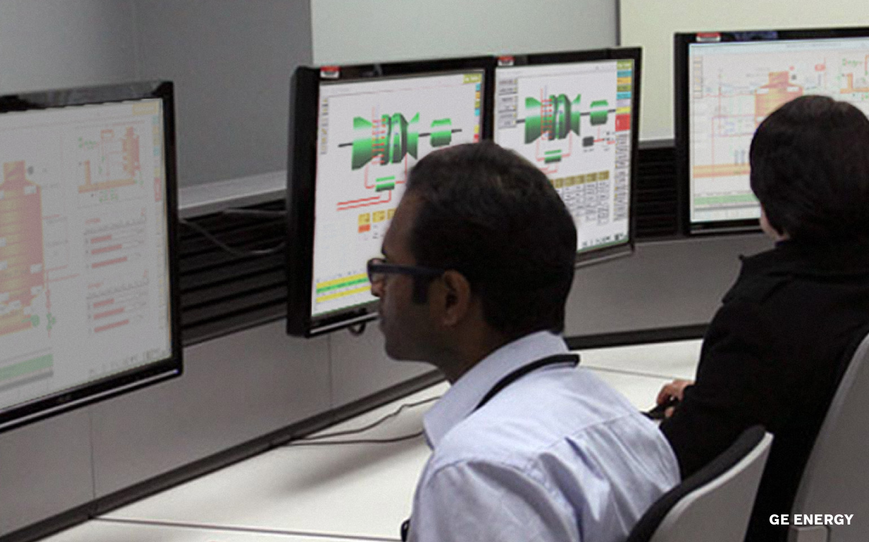 GE Energy UI Screens