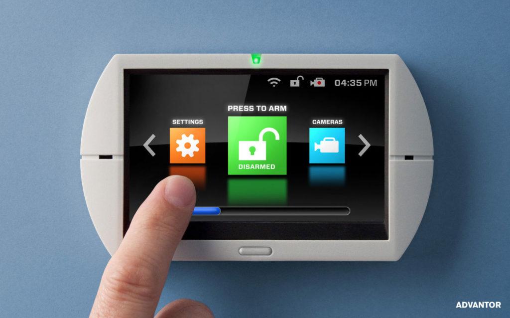 Advantor Security UI Keypad