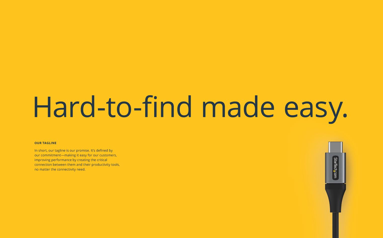 Startech.com Brand Tagline
