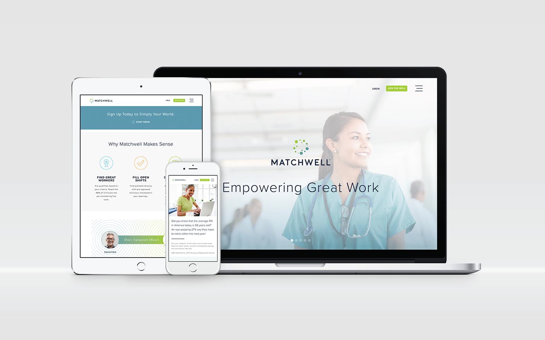Matchwell Website Design