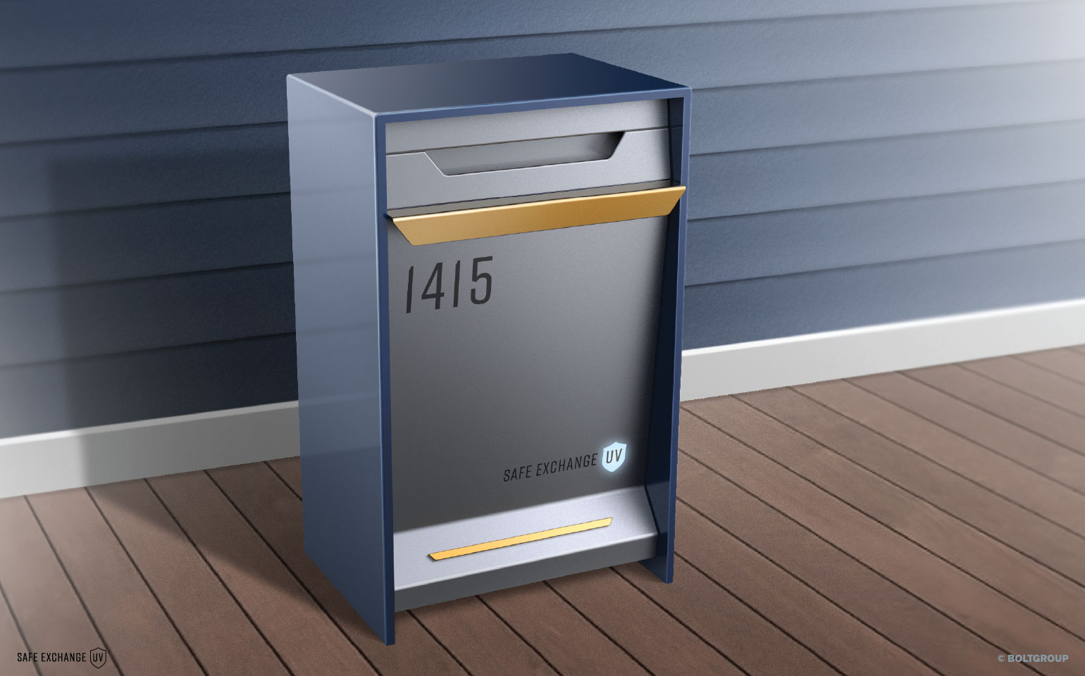 Safe Exchange UV Mailbox